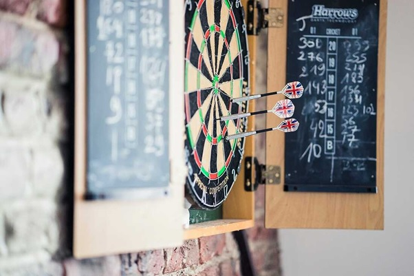 Darts and other unique experience in a startup