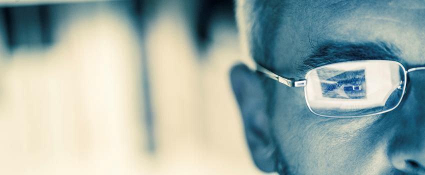Digital Eye Strain- Eyes and specs